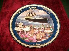 1999 Bradford Exc Titanic Queen of the Ocean Plate 5th Issue The Cafe Parisien