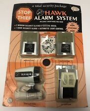 Vintage HAWK Alarm SYSTEM windows/ Doors Electronic Security system NEW RARE