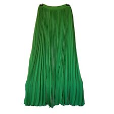 Long Pleated Crepe Skirt SEED size 10