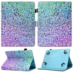 """For 7"""" 10"""" 10.1"""" Android Tablet Cute Pattern Universal Folio Leather Case Cover"""