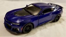 Kinsmart - 1:38 Scale Model 2017 Chevrolet Camaro ZL1 Blue (BBKT5399DB)