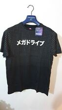 SEGA Mega Drive Japanese Men's T-Shirt Black  Size Medium