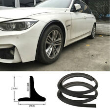 2Pc Flexible soft rubber Fender Flares Lip Trim Protective wheel tyre protective