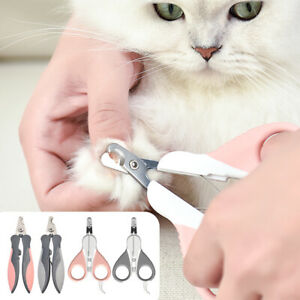 Professional Dog Cat Nail Clippers Safety Pet Toe Paw Trimmer Scissors Grooming