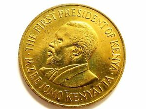 "1978 Republic Of Kenya Ten Cents ""Kenyatta"" Coin"