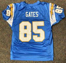 Vintage San Diego Chargers Jersey Antonio Gates Reebok Size 52 On Field