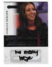 2006 Razor Poker Showdown Signatures Isabelle Mercier Auto #A23 Card