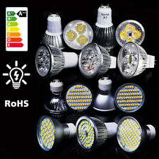 LED Spot Light SMD Bulbs Dimmable Lamp GU10 MR16 Day Warm White 6W 8W 9W*4/10