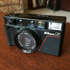 Nikon L35AF compact 35mm camera - ISO ASA 1000 version (Working, except flash)
