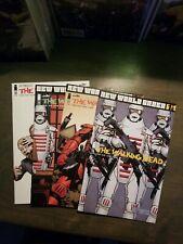 Walking Dead 4 book lot #175,176,177,186 NM (2017) Image comics Kirkman