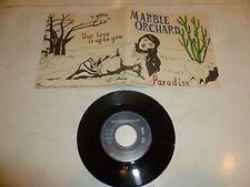"MARBLE ORCHARD - Paradise - German 2-track 7"" Vinyl Single"