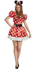 NEW DISNEY MINNIE MOUSE DRESS Sexy Cute HALLOWEEN COSTUME Wiomen size S 4-6