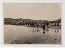 ON THE SANDS, ETTRICK BAY: Publisher's photograph to produce postcards (C31774)