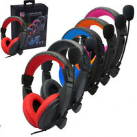 3.5mm Gaming Headset Surround Stereo Headband Headphone with Mic For PC PS4 Xbox