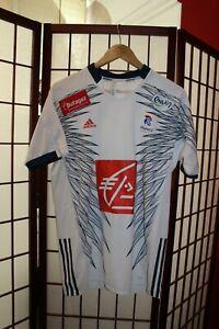 France Team 2019 Handball jersey shirt M (White-style) . ALY