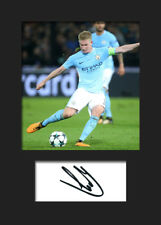 Kevin De Bruyne #2 - Manchester City Signed Photo A5 Mounted Print - FREE DEL
