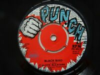 The Justins Cholera UK Orig Punch 45 Reggae B-side Lloyd All-Stars Blackbird