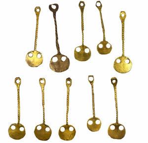 10 Ethiopian Gold Pendants African SALE WAS $29.00