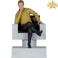 Icon Heroes Star Trek Captain Kirk Statue Bookend - Shatner, Enterprise