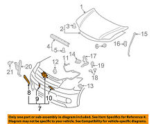 Scion TOYOTA OEM 05-10 tC Hood-Lock Latch 5351021030