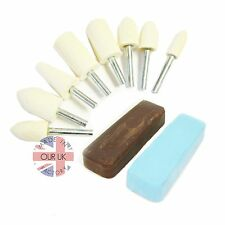 High Finish Polishing Kit 30 Use in a DRILL for all ALUMINIUM / BRASS / COPPER