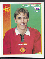 Merlin Football Sticker- 1997 Premier League - No 287 - Man Utd - Phil Neville