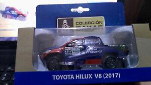 1/43 Toyota HIlux 305 Rally Dakar 2017 Truck Diecast Team Car Tank Racing Ford