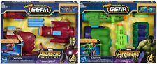NERF Marvel Avengers: Infinity War Iron Man & Incredible Hulk Assembler Gear