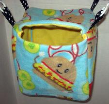 Custom Fleece-lined Hanging Mailbox Cube Ferret Hamster Rat Mice Sugar Glider