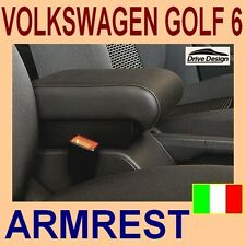 VOLKSWAGEN GOLF 6 - armrest with large storage - High QUALITY - made in Italy-@@