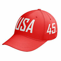 USA 45th President 45 Baseball Cap Hat Donald Trump Make America Great Again C5