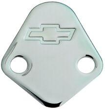 Chrome Fuel Pump Block-off Plate Chevy Big Block