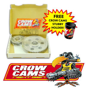 Crow Cams Straight Cut Timing Gear for Holden 6 Cyl 179 186 202 Red 1963-1986