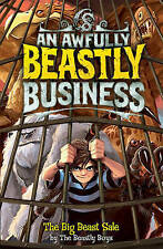 The Big Beast Sale (Awfully Beastly Business)-ExLibrary