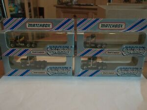 4 x Matchbox Convoy Kenworth Cabs Only in Boxes - Job Lot - Mint - RARE Livery