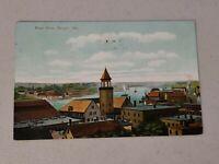Vintage Postcard - River View Bangor Maine ME Posted #621