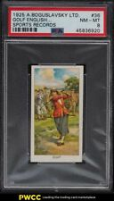 1925 Boguslavsky Sports Records Golf Doris Chambers ROOKIE RC #36 PSA 8 NM-MT
