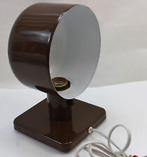 Art Deco Portable Lamp Desk or Wall Light Brown Mid Century Metal UL Works Great