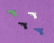 POLICE REVOLVER gun die cuts scrapbook cards