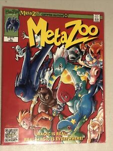 MetaZoo Cryptid Nation Comic Issue #1 First Edition Sealed (Only 1000 Printed)