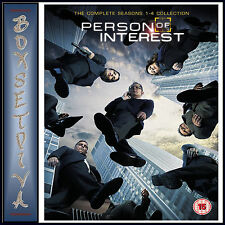 PERSON OF INTEREST - COMPLETE SEASONS 1 2 3 & 4  *BRAND NEW DVD BOXSET**