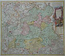 Oberpfalz - Palatinatus Bavariae vulgo die Obere Pfaltz - J. B. Homann - um 1730