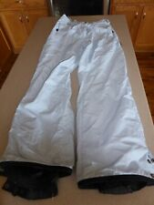 Women's Columbia Ski Snow Pants Light Blue Waterproof Breathable sz S Small