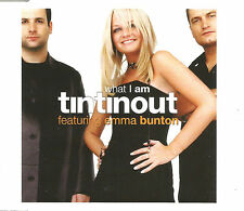 TIN TIN OUT w/ EMMA BUNTON What I am REMIX & UNRELEASED CD single Spice Girls