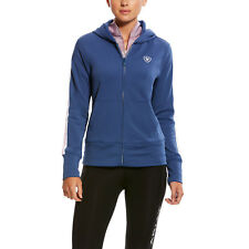Ariat® Ladies AriatTEK Milton 3D Indigo Blue Full-Zip Hoodie 10025650