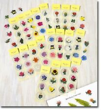"NEW 60 FLOWER STICKERS 1-3/4"" DIAMETER NEW IN PACKAGE"