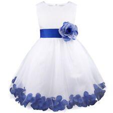Vestido de Flores Boda de Niña Elegante Vestido de Princesa Infantil Boda Fiesta