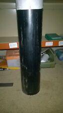 Barra tonda PVC nero