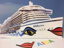 AIDAprima das Clubschiff  - Pappaufsteller -  AIDA Aufsteller Schiffsmodell