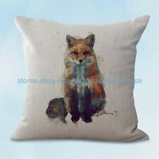 US SELLER, fox animal cushion cover decorative accessories for home